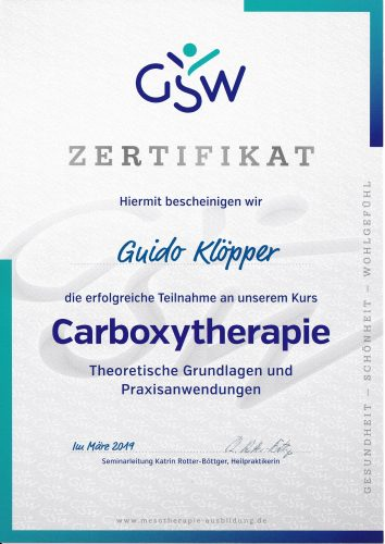 Carboxytherapie